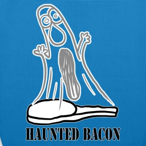 HAUNTED BACON Bags  - EarthPositive Tote Bag
