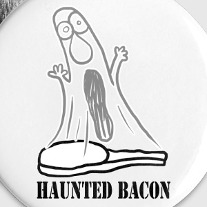 HAUNTED BACON Buttons - Buttons large 56 mm