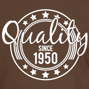 Birthday - Quality since 1950 (sv) T-shirts - Kontrast-T-shirt herr
