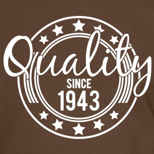 Birthday - Quality since 1943 (fr) Tee shirts - T-shirt contraste Homme