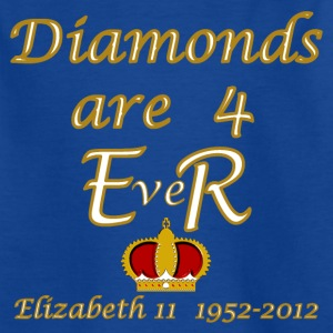 diamonds are 4 ER jubilee 1952_2012 Kids' Shirts - Kids' T-Shirt