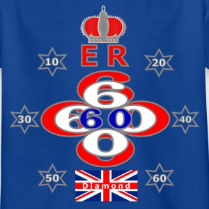 Queens diamond jubilee 60 years stars Kids' Shirts - Kids' T-Shirt