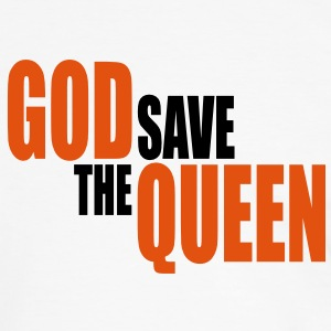 God save the Queen II Tee shirts - T-shirt contraste Homme