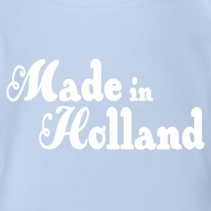 Made in Holland Baby Bodysuits - Organic Short-sleeved Baby Bodysuit