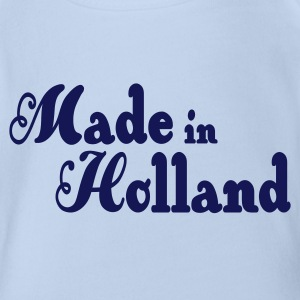Made in Holland Baby body - Baby bio-rompertje met korte mouwen