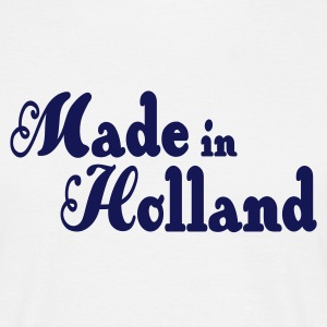Made in Holland T-shirts - Mannen T-shirt