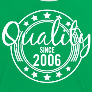 Birthday - Quality since 2006 (de) T-Shirts - Frauen Kontrast-T-Shirt