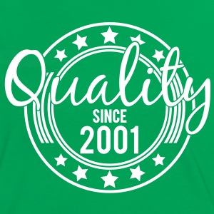Birthday - Quality since 2001 (sv) T-shirts - Kontrast-T-shirt dam