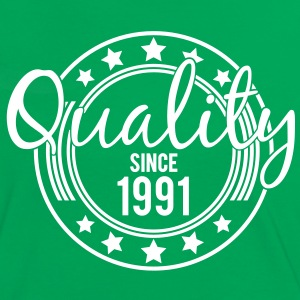 Birthday - Quality since 1991 (uk) T-Shirts - Women's Ringer T-Shirt