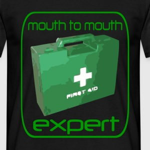 Mouth to mouth - Men's T-Shirt