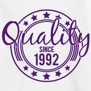 Birthday - Quality since 1992 (es) Camisetas niños - Camiseta niño