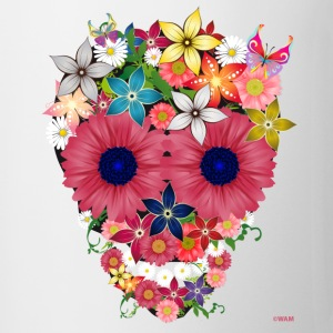 skull flowers by wam Tazze - Tazza