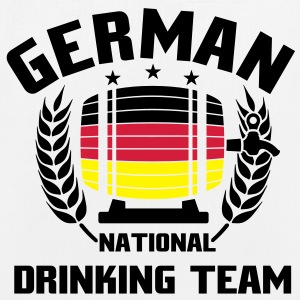 NATIONAL DRINKINGTEAM GERMANY Taschen - Bio-Stoffbeutel