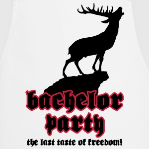 Bachelor Party - The last taste of freedom | T-Shirt bedrucken Schürzen - Kochschürze