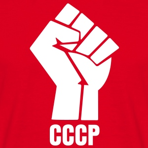 CCCP Poing levé TS Homme - T-shirt Homme