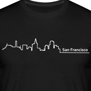 san francisco skyline - Männer T-Shirt