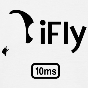 Paragliding iFly 10ms T-Shirts - Men's T-Shirt