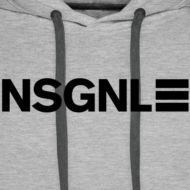 NSGNL Cargo Line Black  - Hoodie