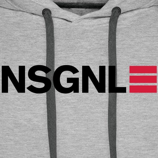 NSGNL Cargo Line Red  - Hoodie