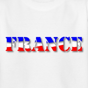 France tricolore ombré Tee shirts Enfants - T-shirt Ado