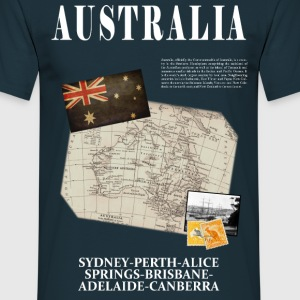 Australia - World Tour Expedition - T-shirt Homme