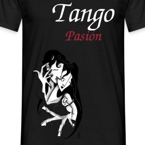 Romantic Love Man T-shirt - Argentine Tango  - Men's T-Shirt