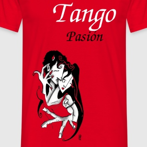 Erotic Love Man T-shirt - Argentine Tango  - Men's T-Shirt
