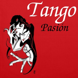 Argentine Tango bag - Romantic Love - Tote Bag