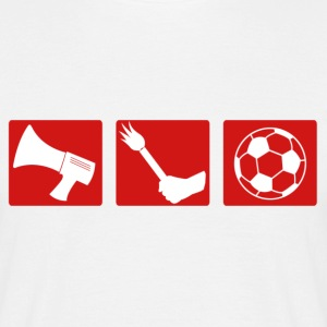 Football fan pyrotechnics - Men's T-Shirt