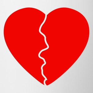 Love hurts / broken heart Muggar - Mugg
