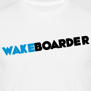 Wake wakeboards wakeboarden - Herre-T-shirt