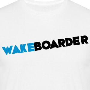 Wake wakeboards wakeboarden - Mannen T-shirt