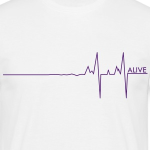 Alive pulse/UK - Men's T-Shirt