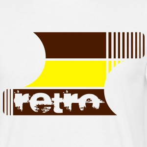 retro Design - Mannen T-shirt
