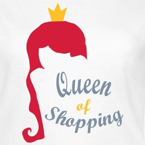 queen of shopping - Frauen T-Shirt