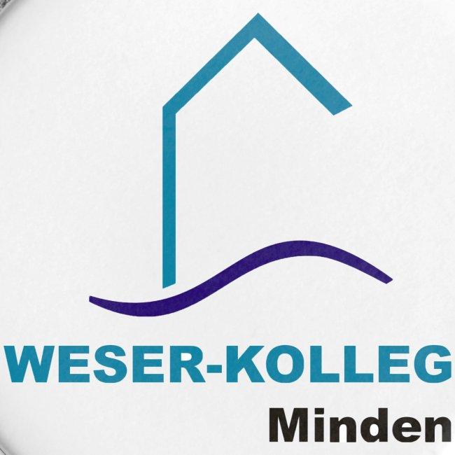 Button 56mm Weserkolleg Logo