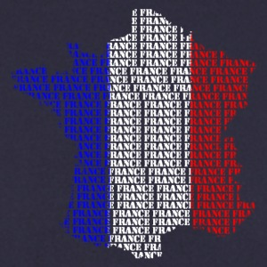 Carte France mots France Sweat-shirts - Sweat-shirt Homme