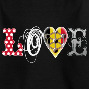 Love Brussels White Shirts - Kids' T-Shirt