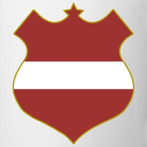 latvia shield Mugs  - Mug