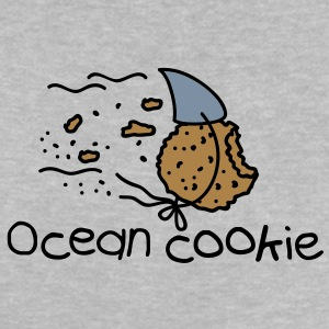 ocean shark cookie Baby shirts - Baby T-shirt