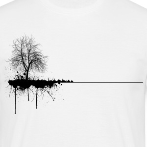 OD-Voltex 'Ink tree' - Men's T-Shirt