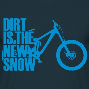 dirt is the new snow + Camisetas - Camiseta hombre
