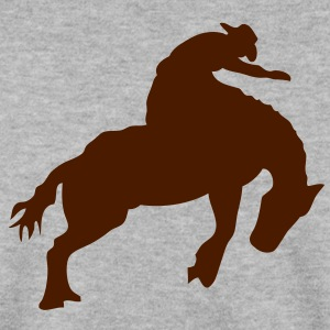 rodeo cowboy cheval horse4 Sweat-shirts - Sweat-shirt Homme