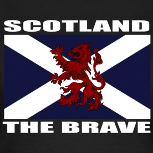 Scotland The Brave  - Women's T-Shirt