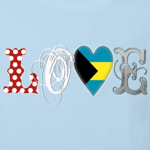 Love Bahamas White Shirts - Kids' Organic T-shirt