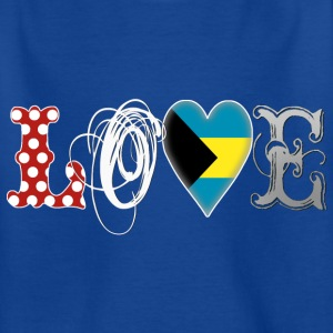 Love Bahamas White Shirts - Teenage T-shirt