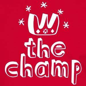 The Champ T-shirts - Kontrast-T-shirt herr