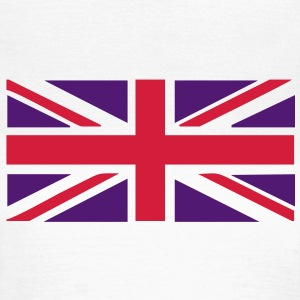 Union Jack - Great Britain - Union flag, versatile 2 colour vector T-Shirts - Women's T-Shirt