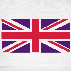 Union Jack - Great Britain - Union flag, versatile 2 colour vector Caps & Hats - Baseball Cap