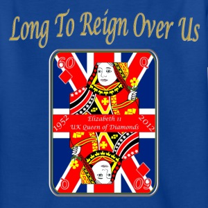 queens diamond jubilee reign over us Kids' Shirts - Teenage T-shirt